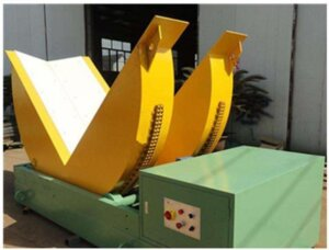 steel coil upender and tilter