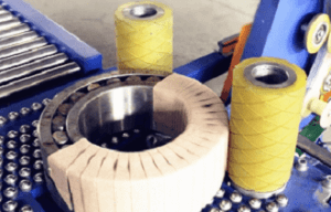 Bearing wrapping and packing machine
