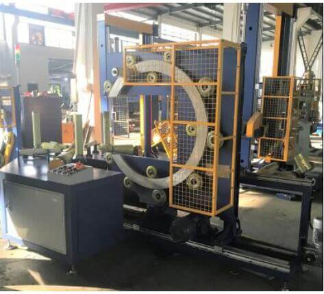 horizontal bearing stretch wrapping machine