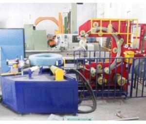 horizontal bearing wrapper machine