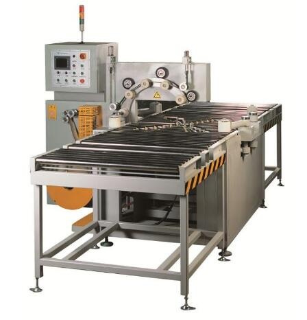 inline copper coil wrapping machine