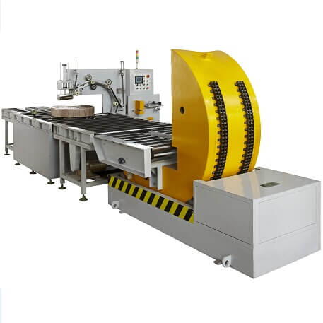 inline steel coil upender machine