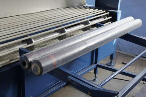 carpet roll shrink wrapping machine