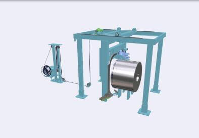 steel coil strapping machine