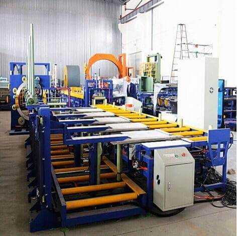 Fully automatic aluminum profile packing line