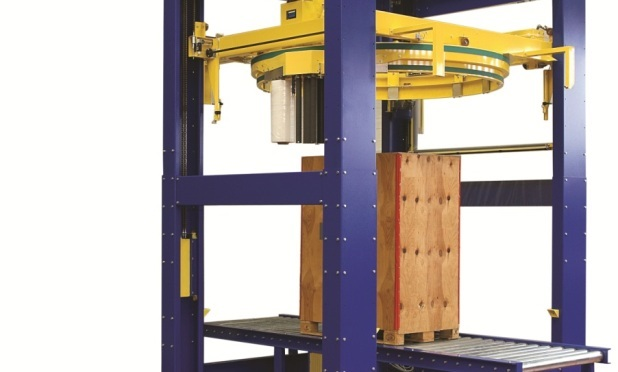 Advantages of high-speed online orbital ring pallet wrapping machine