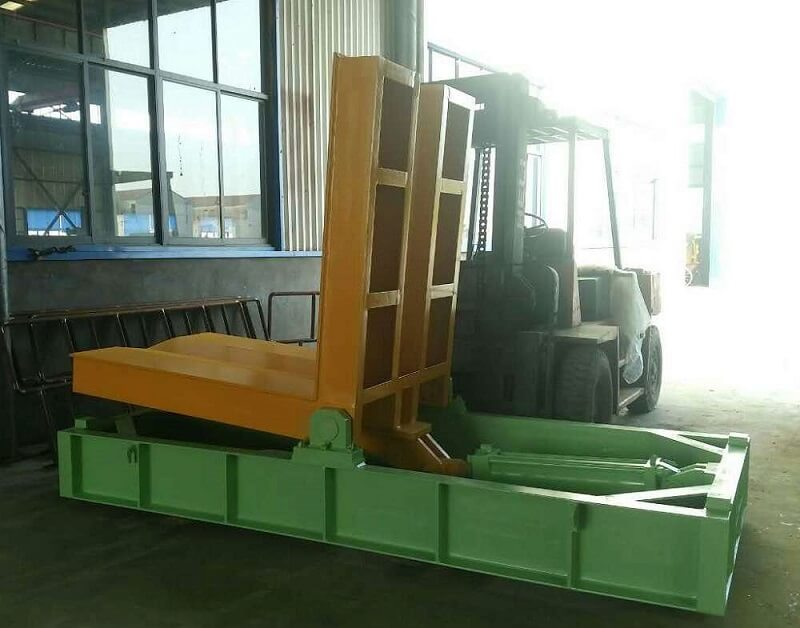 The hydraulic system of the steel coil tipper machine