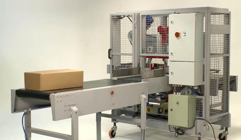 Premium horizontal orbital adhesive tape wrapping machine made in China
