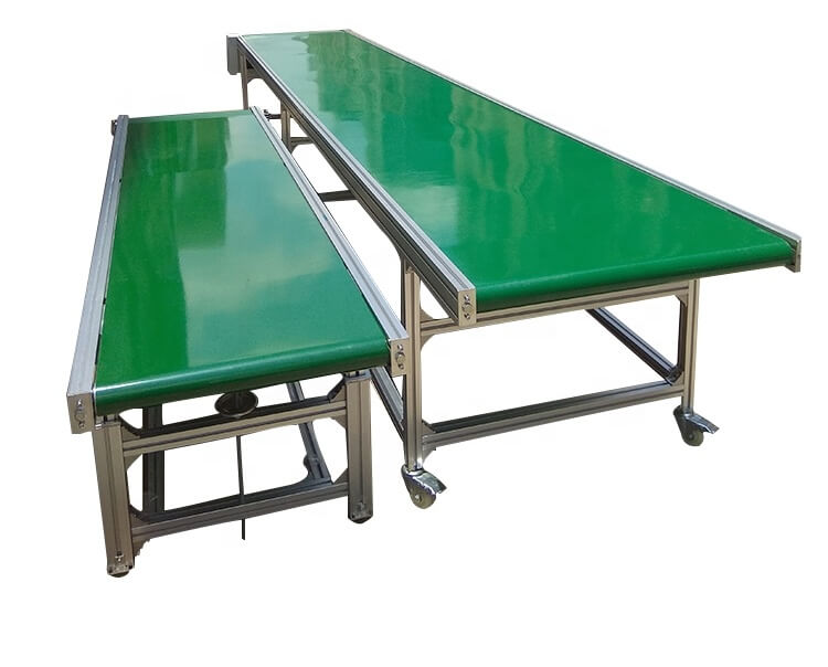 What to do if the conveyor belt/conveyor belt runs off?